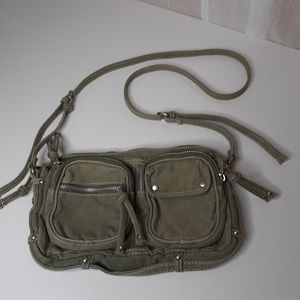 American Eagle Outfitters Army Green Crossbody Bag